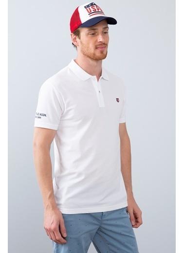 U.S. Polo Assn. Tişört Beyaz